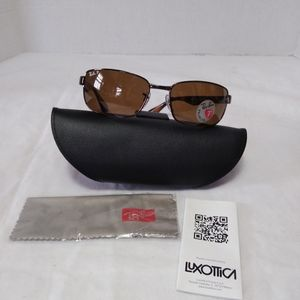 Ray Ban Men's Brown RB 3478 Polarized Sunglasses